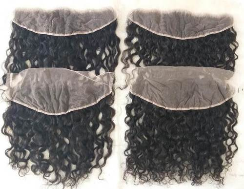 Raw Indian Curly 13x4 Lace Frontal