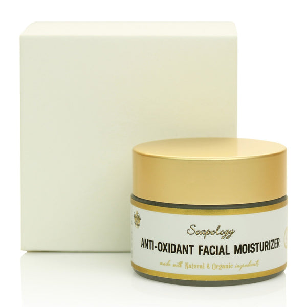 Anti-Oxidant Face Moisturizer - Soapology Facial Care