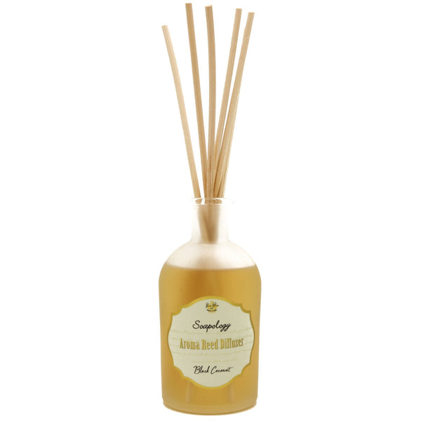 Aroma Reed Diffuser <br> Black Coconut - SoapologyNYC AROMATICS