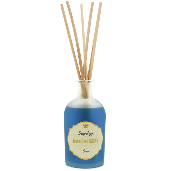 Aroma Reed Diffuser <br> Ocean - SoapologyNYC AROMATICS