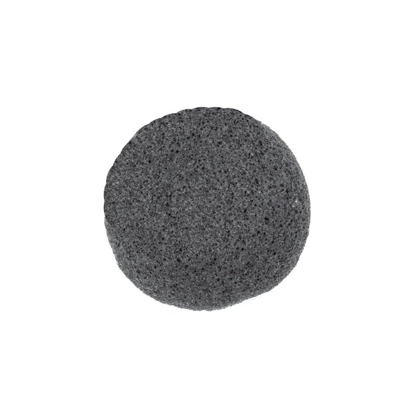 Bamboo Charcoal Konjac Sponge - SoapologyNYC ACCESSORIES
