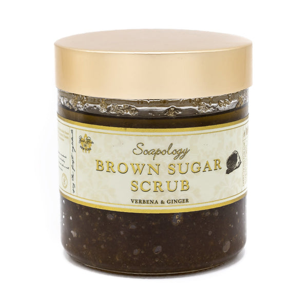 Brown Sugar Scrub <br> Verbana Ginger - SoapologyNYC SCRUBS
