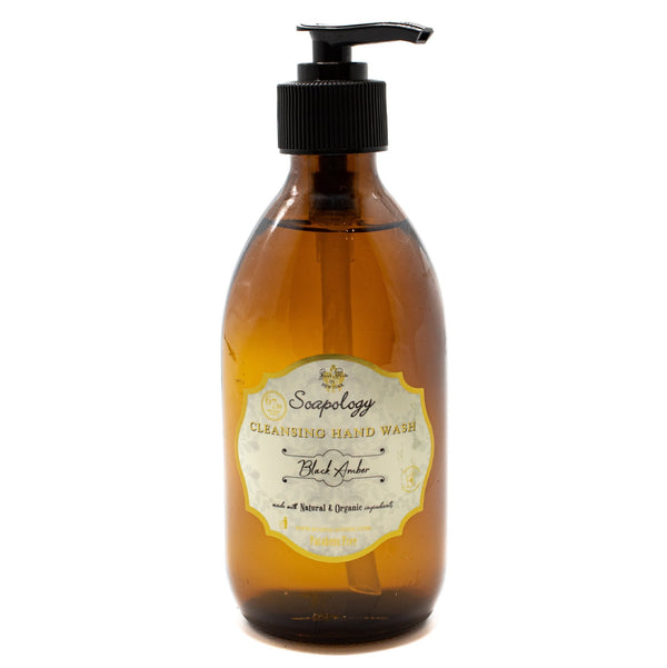 Cleansing Hand Wash <br> Black Amber - SoapologyNYC SOAPS