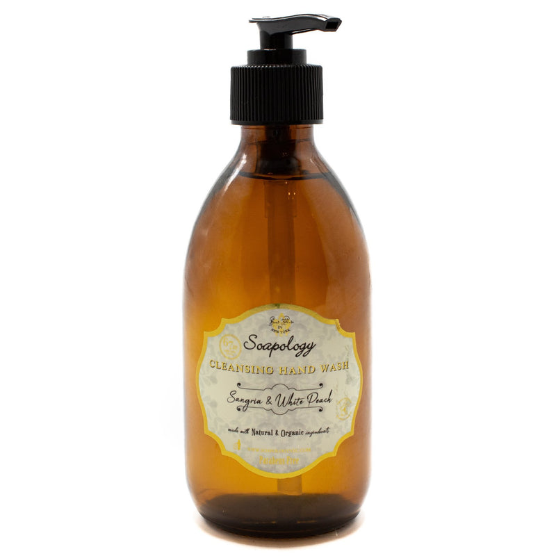 Cleansing Hand Wash <br> Sangria &White Peach - SoapologyNYC SOAPS