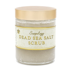 Dead Sea Salt Scrub <br> Small - Custom Scent - SoapologyNYC SCRUBS