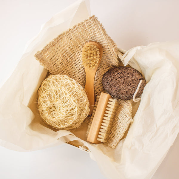 Exfoliating Bath Set - SoapologyNYC