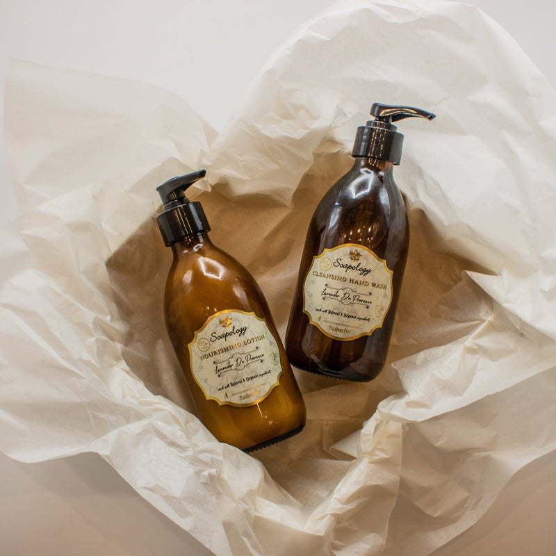 Hand Wash & Body Lotion Set - SoapologyNYC