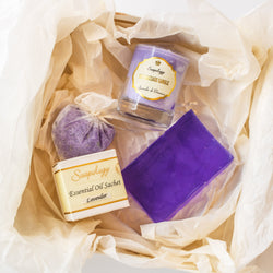Lavender Mood Gift Set - SoapologyNYC