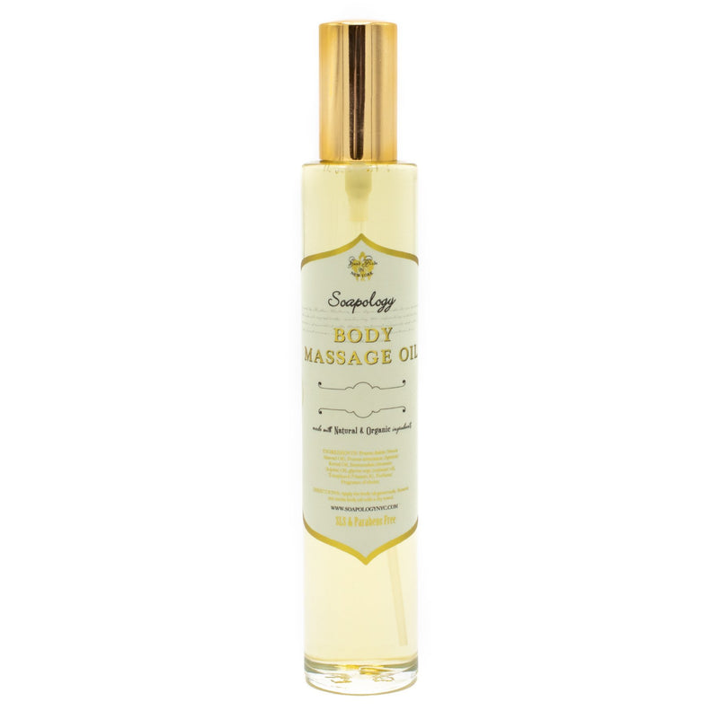 Moisturizing Body & Massage Oil <br> Yuzu - SoapologyNYC BODY