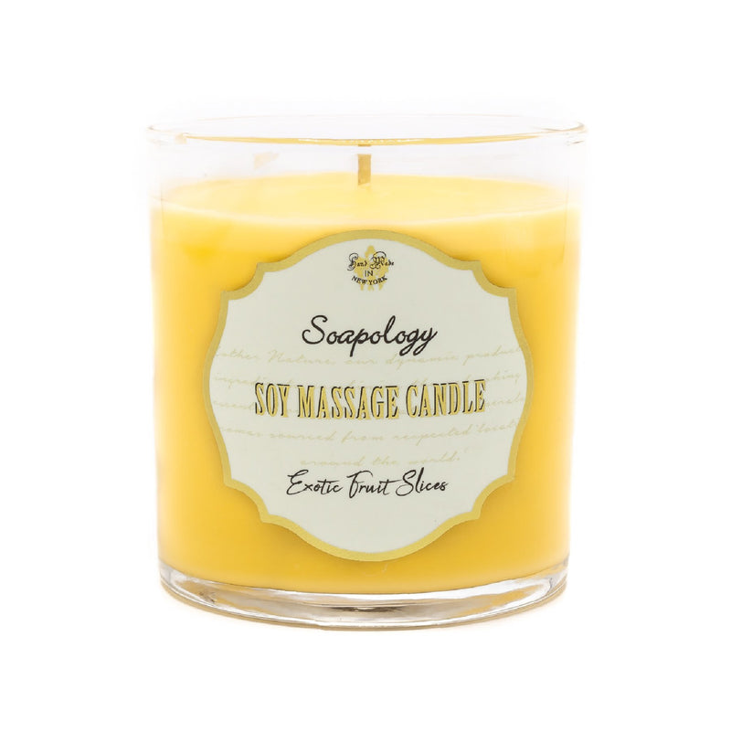 Soy Massage Candle <br> Exotic Fruit - SoapologyNYC CANDLES