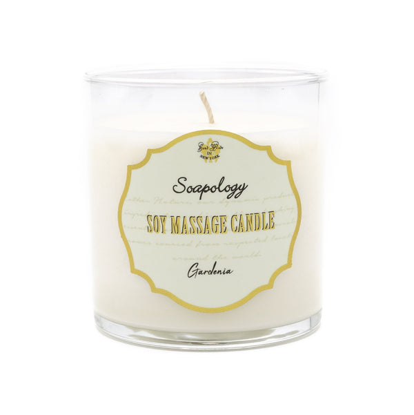 Soy Massage Candle <br> Gardenia - SoapologyNYC CANDLES