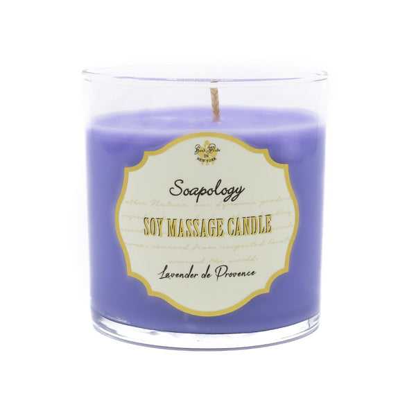 Soy Massage Candle <br> Lavender de Provence - SoapologyNYC CANDLES