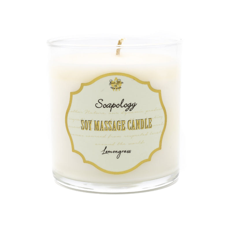 Soy Massage Candle <br> Lemongrass - SoapologyNYC CANDLES