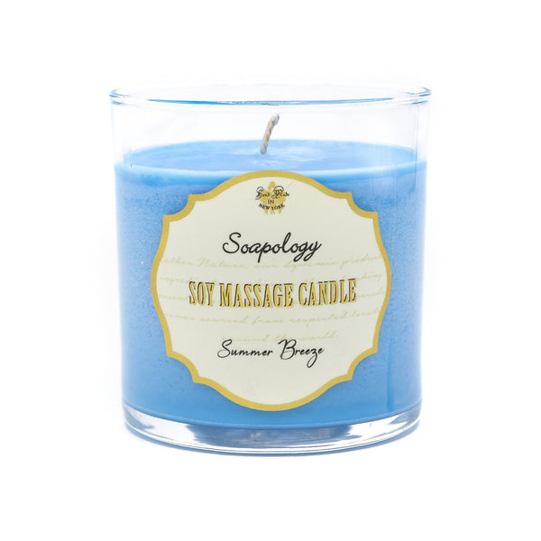 Soy Massage Candle <br> Summer Breeze - SoapologyNYC