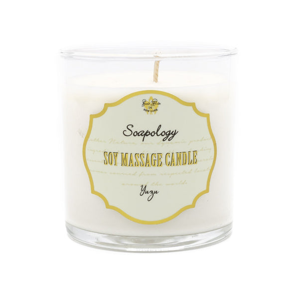Soy Massage Candle <br> Yuzu - SoapologyNYC CANDLES