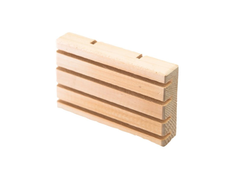 Wooden Soap Dish - SoapologyNYC ACCESSORIES