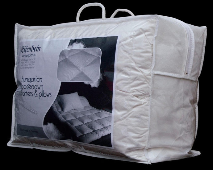 Hungarian Goose Down and Feather Pillows Queen Size