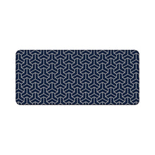 Load image into Gallery viewer, Chenyi Geometric Deskmat Polygon Navy