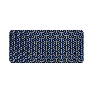 Chenyi Geometric Deskmat Polygon Navy