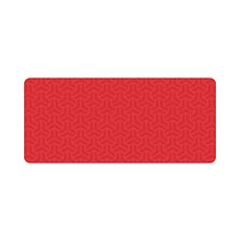 Load image into Gallery viewer, Chenyi Geometric Deskmat Polygon Red