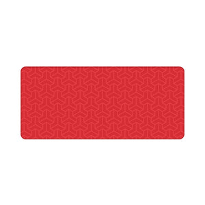 Chenyi Geometric Deskmat Polygon Red