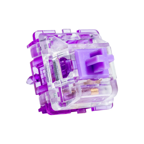 Everglide Crystal Purple (Amethyst) Tactile Switch