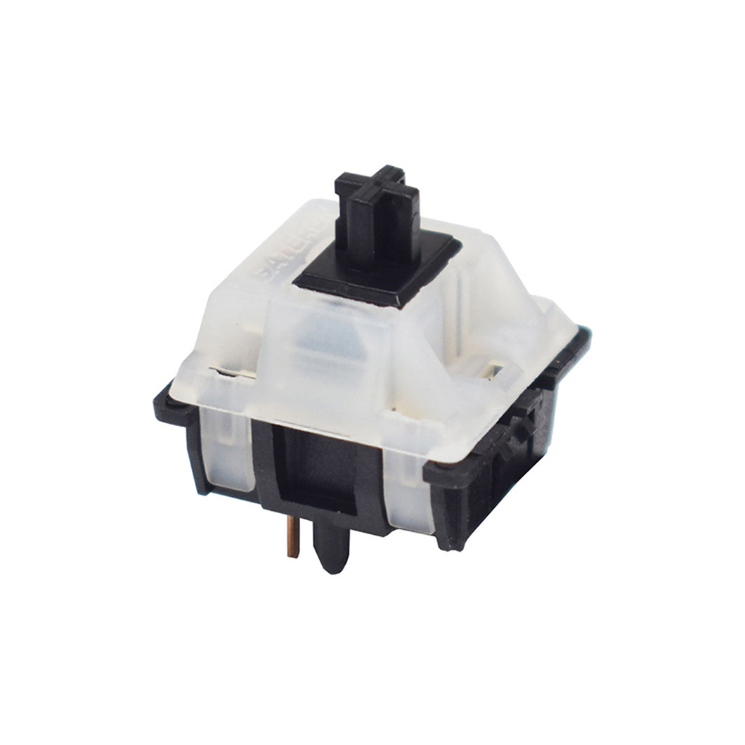 Gateron Milky Top Black Linear Switches