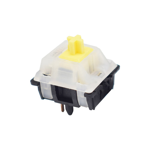 Gateron Milky Top Yellow Linear Switches