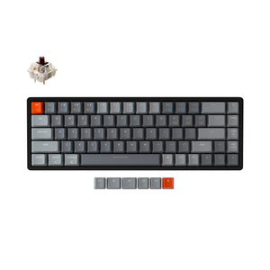 Keychron K6 Hotswap Aluminium RGB Brown Switch