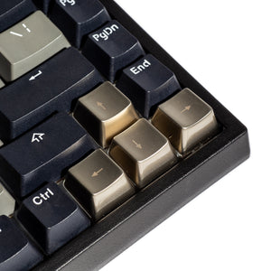 Metal Directional Arrows Keycaps - Gunmetal