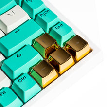 Load image into Gallery viewer, Metal Directional Arrows Keycaps - Gold