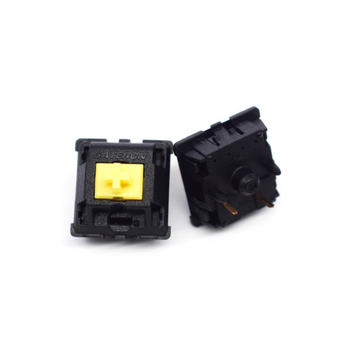 Gateron Silent Yellow Linear Switches