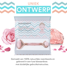 Afbeelding in Gallery-weergave laden, Rose quartz roller in doos