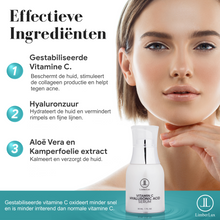 Afbeelding in Gallery-weergave laden, Ingredienten vitamine Hyaluronzuur serum met Aloë Vera