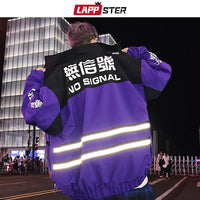 LAPPSTER - No Signal Reflective Stripe Jacket