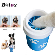 Load image into Gallery viewer, Soft Silicone Portable Dog Dirty Paw Cleaner