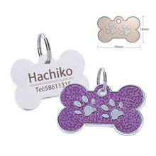Load image into Gallery viewer, Engraved Nameplate Dog ID Tag