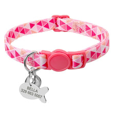 Load image into Gallery viewer, Adjustable / Personalized Nylon Dog Collar