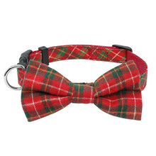 Load image into Gallery viewer, Adjustable Plaid Necktie Collar