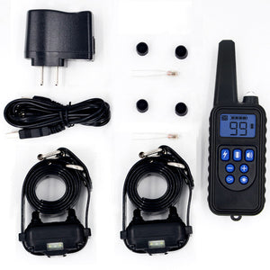 Remote Controlled Waterproof Adjustable Dog Training Collar