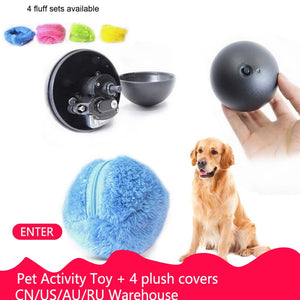 Electric / Automatic Activation Chew Ball