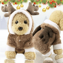 Load image into Gallery viewer, Winter Warm Thick Cartoon Dog Costume