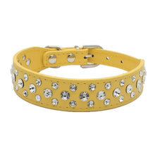 Load image into Gallery viewer, Personalized Rhinestone Collar / Necklace For Small Dogs