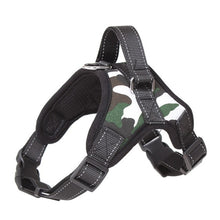 Load image into Gallery viewer, Reflective Padded Dog Harness / Leash