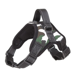 Reflective Padded Dog Harness / Leash