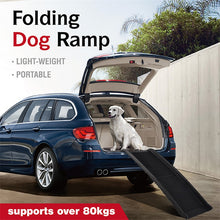 Load image into Gallery viewer, Folding Vehicle Dog Climbing Stair / Ramp