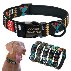 Personalized Premium Nylon Dog Collar