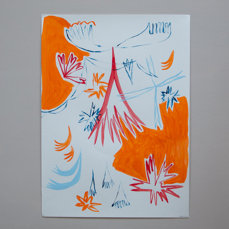 original abstract artwork by baby g georgia beaumont