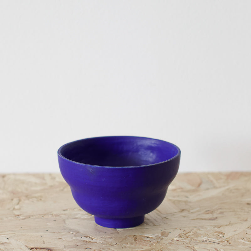 cobalt blue decorative bowl by sophie eveleigh