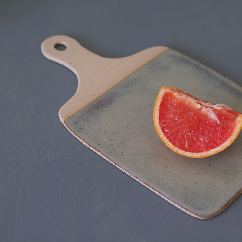 elegant cheese board handmade with clay perfect for a platter by the super sparrow